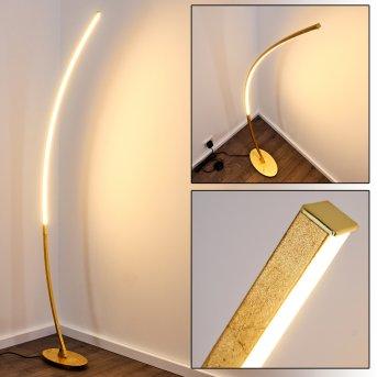 Nagu Stehleuchte LED Gold, 1-flammig