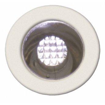 Brilliant Cosa 15 Einbauleuchtenset LED Edelstahl, 10-flammig