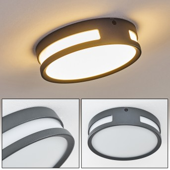 Chiavari Außenleuchte LED Anthrazit, 1-flammig