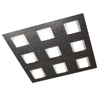 Grossmann BASIC Deckenleuchte LED Anthrazit, 9-flammig