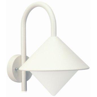 Albert Leuchten 645 Außenwandleuchte Weiß, 1-flammig