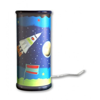 Waldi Tischleuchte Weltraum Blau, 1-flammig