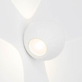 AEG Gus Außenwandleuchte LED Weiß, 3-flammig
