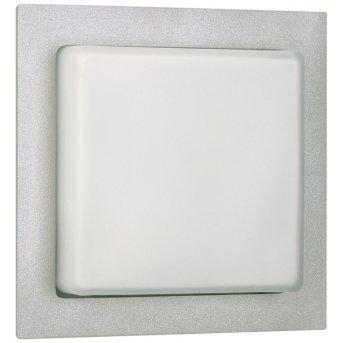 Albert Leuchten 6219 Hausnummernleuchte Silber, 1-flammig