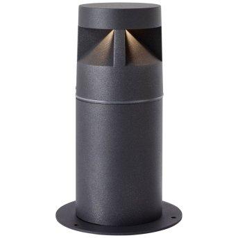 AEG Winslow Außensockelleuchte LED Anthrazit, 1-flammig
