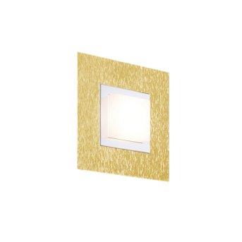 Grossmann BASIC Wandleuchte LED Messing, 1-flammig