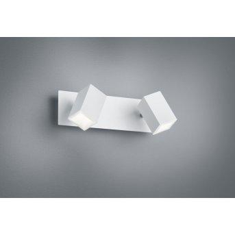 Trio Leuchten LAGOS Wandleuchte LED Weiß, 2-flammig