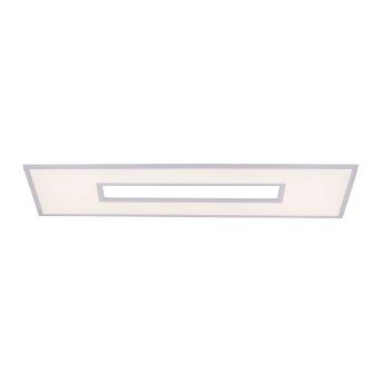 Leuchten Direkt RECESS LED Panel Weiß, 2-flammig, Fernbedienung, Farbwechsler