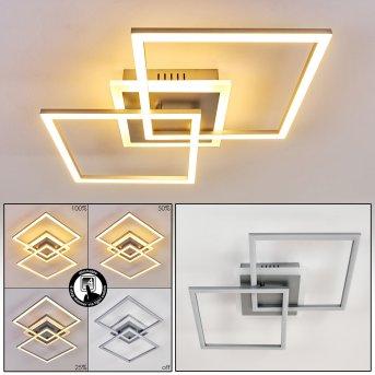 Lithgow Deckenleuchte LED Silber, 1-flammig