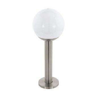 Eglo connect NISIA Sockelleuchte LED Edelstahl, 1-flammig