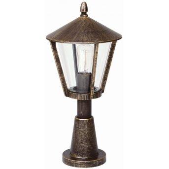 Albert Leuchten 529 Außenstehleuchte Messing, Braun, 1-flammig