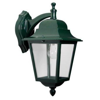 KS Verlichting Sorrento Wandleuchte Grün, 1-flammig