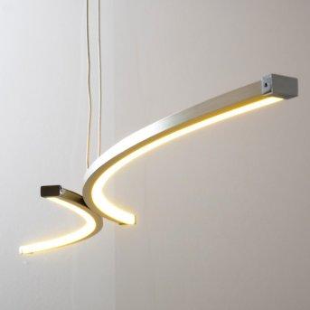 Glenwood Pendelleuchte LED Nickel-Matt, Chrom, 2-flammig