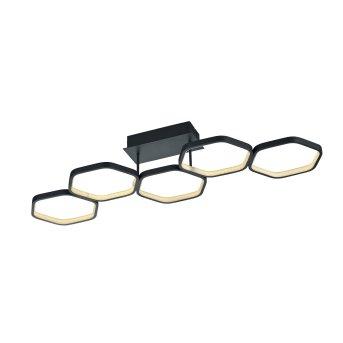 Reality Vigo Deckenleuchte LED Anthrazit, 1-flammig
