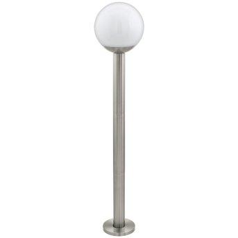 Eglo connect NISIA Außenstehleuchte LED Edelstahl, 1-flammig
