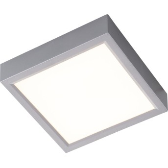Nino Leuchten PUCCY Deckenleuchte LED Silber, 1-flammig