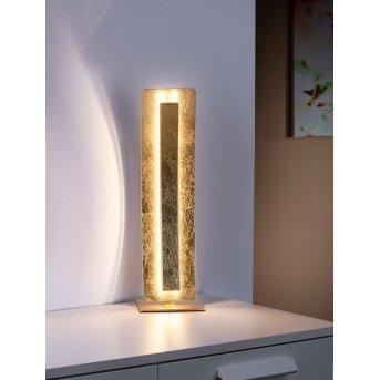 Paul Neuhaus NEVIS Tischleuchte LED Gold, 1-flammig