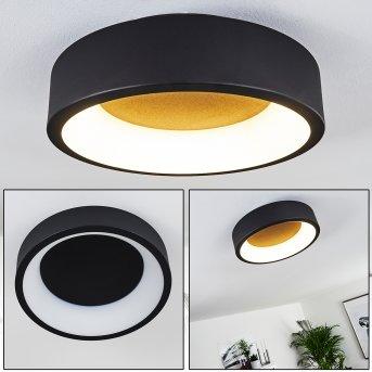 Kampala Deckenleuchte LED Schwarz, 1-flammig