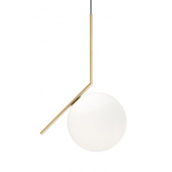 FLOS IC Light Pendelleuchte Messing, 1-flammig