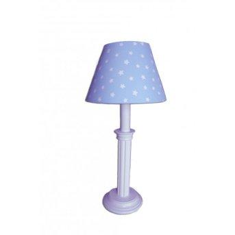 Waldi Tischleuchte Sternchen Blau, 1-flammig