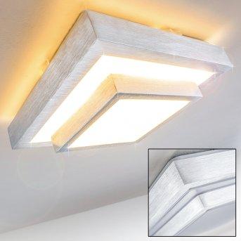Sora Deckenlampe LED Weiß, 1-flammig