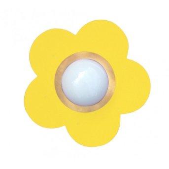 Waldi Deckenleuchte Fleur petit Gelb, 1-flammig