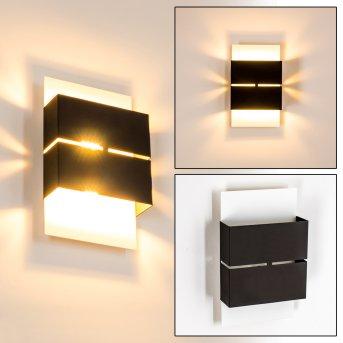 Außenwandleuchte Tidan LED Weiß, 2-flammig