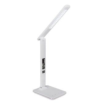 Globo TANNA Tischleuchte LED Weiß, 1-flammig