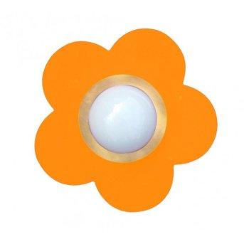 Waldi Deckenleuchte Fleur petit Orange, 1-flammig