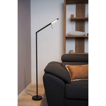 Lucide BERGAMO Stehlampe LED Schwarz, 1-flammig
