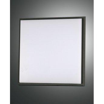 Fabas Luce Desdy Außendeckenleuchte LED Schwarz, 1-flammig