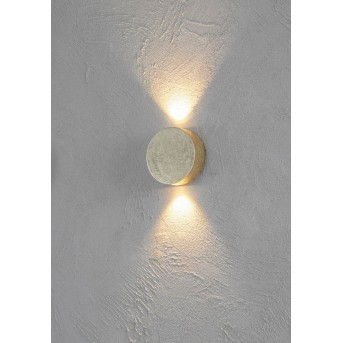 Escale SUN Wandleuchte LED Gold, 2-flammig