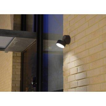 Lutec TRUMPET Außenwandleuchte LED Anthrazit, 1-flammig