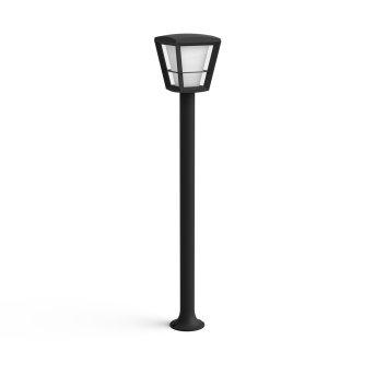 Philips Hue Ambiance White & Color Econic Wegeleuchte LED Schwarz, 1-flammig, Farbwechsler