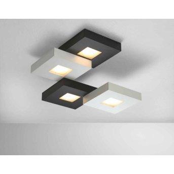 Bopp CUBUS Deckenleuchte LED Schwarz, Weiß, 4-flammig