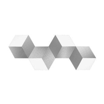 Grossmann GEO Deckenleuchte LED Aluminium, 4-flammig
