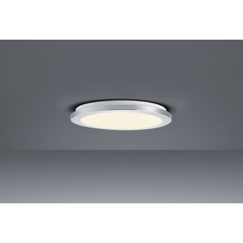 Trio Leuchten CESAR Deckenleuchte LED Chrom, 1-flammig